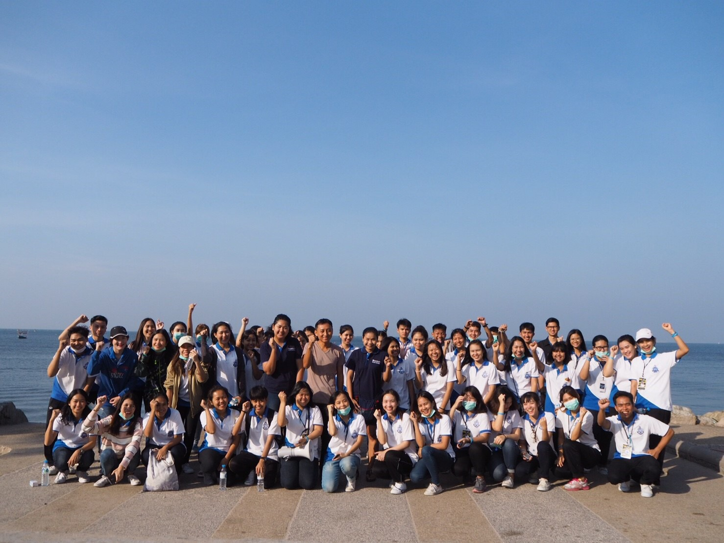 โครงการ The beach cleaning day