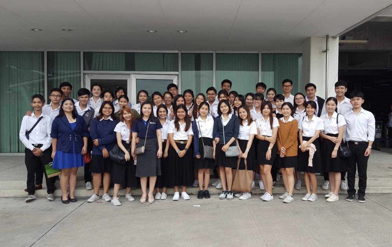 ศึกษาดูงาน บริษัท มิตซูบิชิ มอเตอร์ส (ประเทศไทย) จำกัด