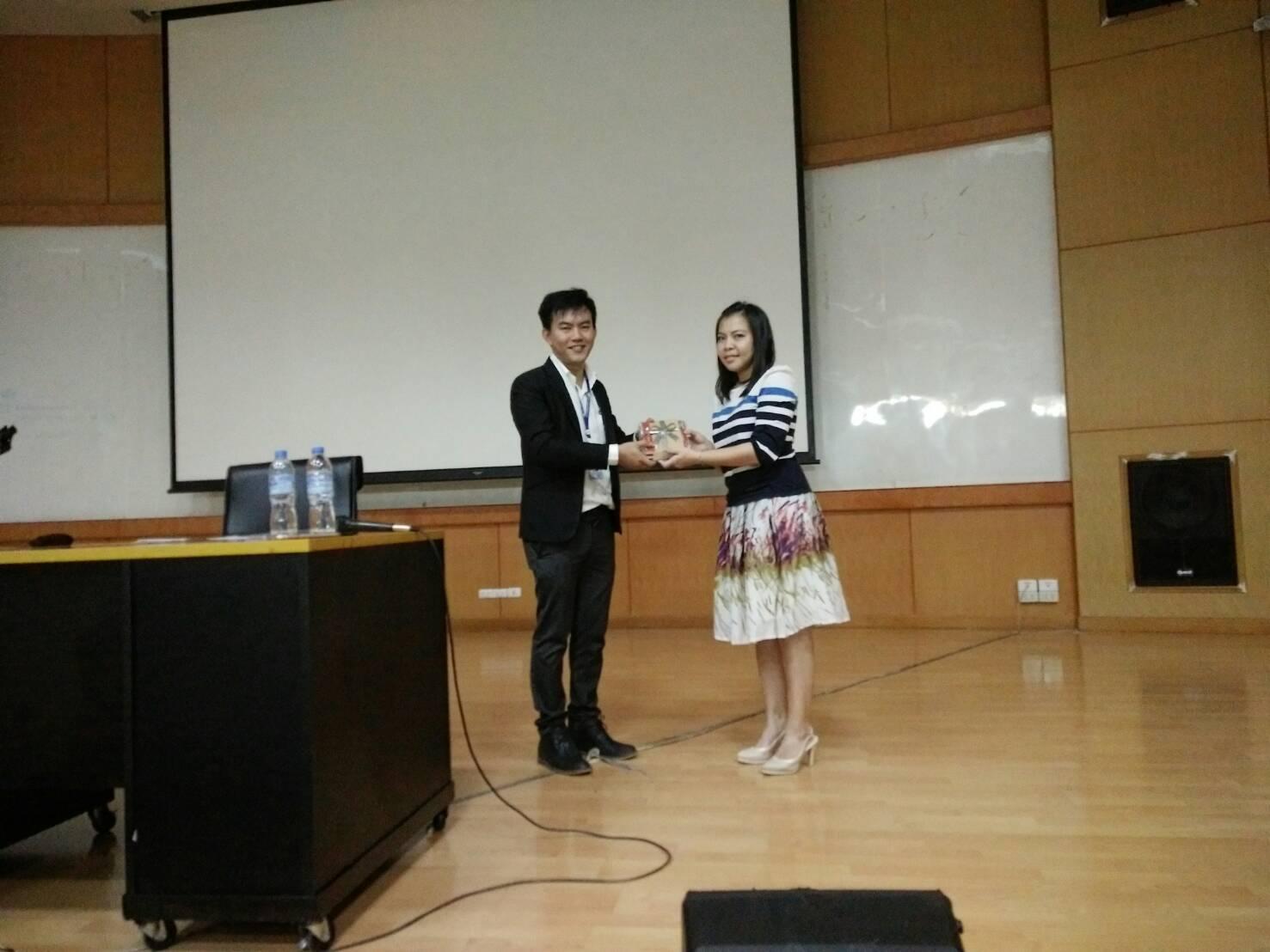 บริษัท เอ็มโอแอล โลจีสติกส์ (ประเทศไทย) จำกัด เข้าบรรยาย