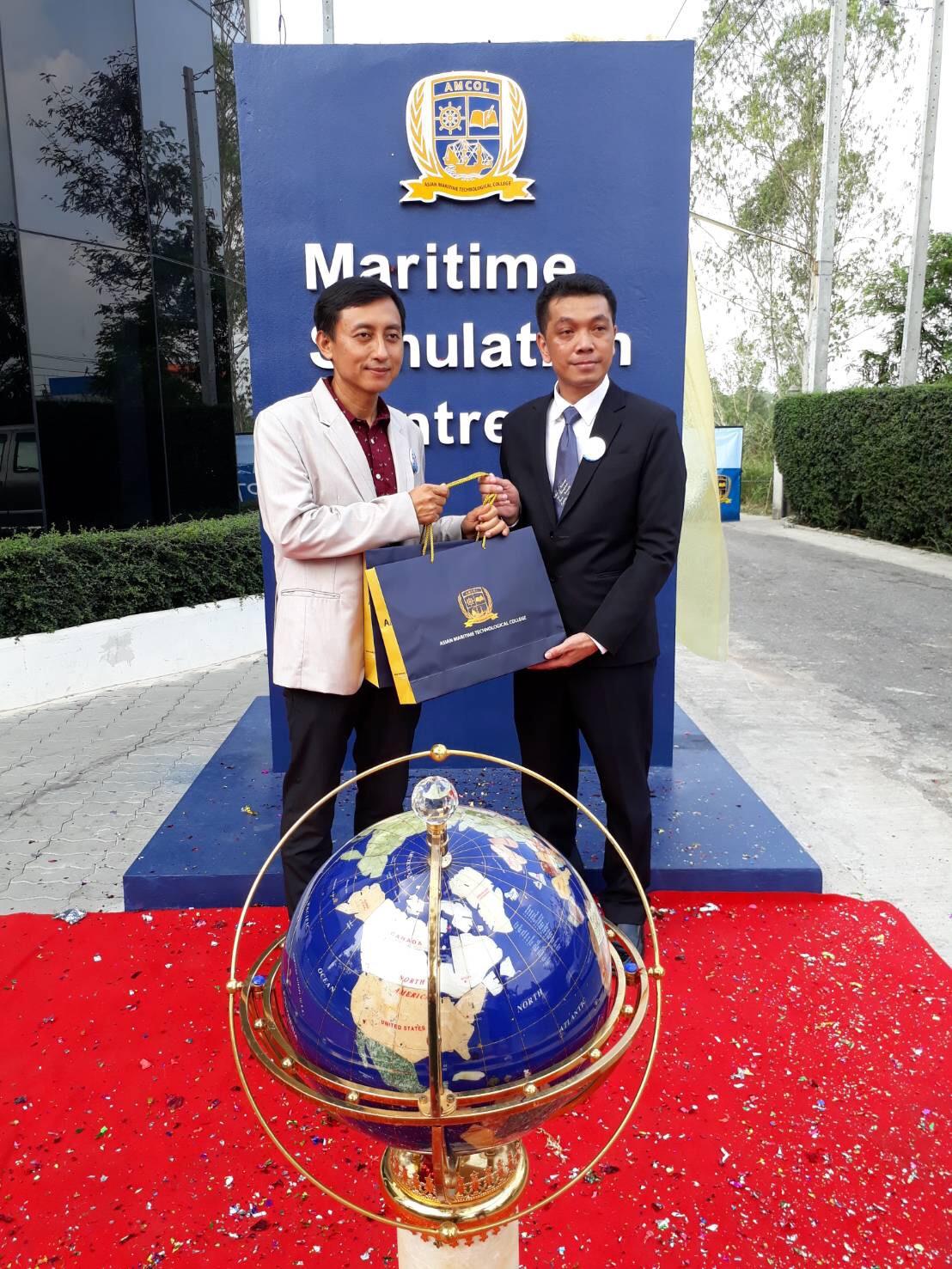 ร่วมงาน วันครบรอบการก่อตั้ง วิทยาลัยเทคโนโลยีทางทะเลแห่งเอเชีย
