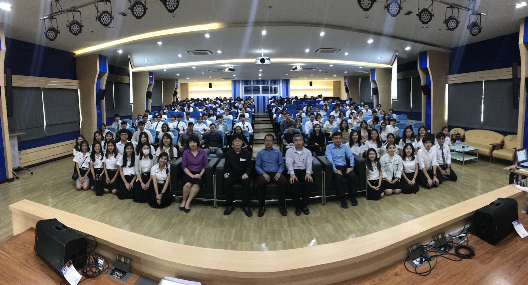 โครงการสัมมนาวิชาการในรายวิชาสหกิจศึกษา ภาคเรียนที่ 2 ปีการศึกษา 2560