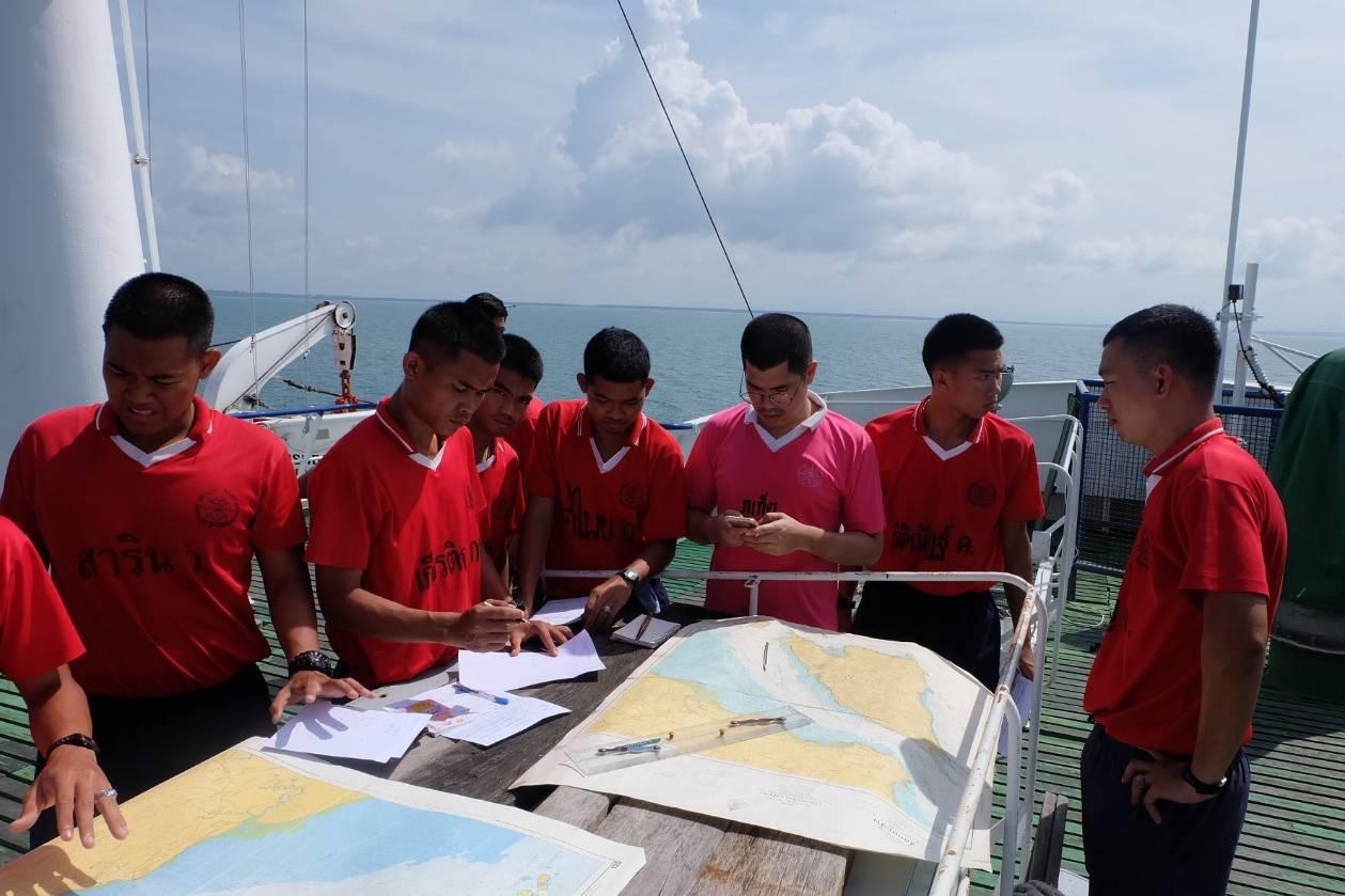 โครงการฝึกภาคปฏิบัติทางทะเล