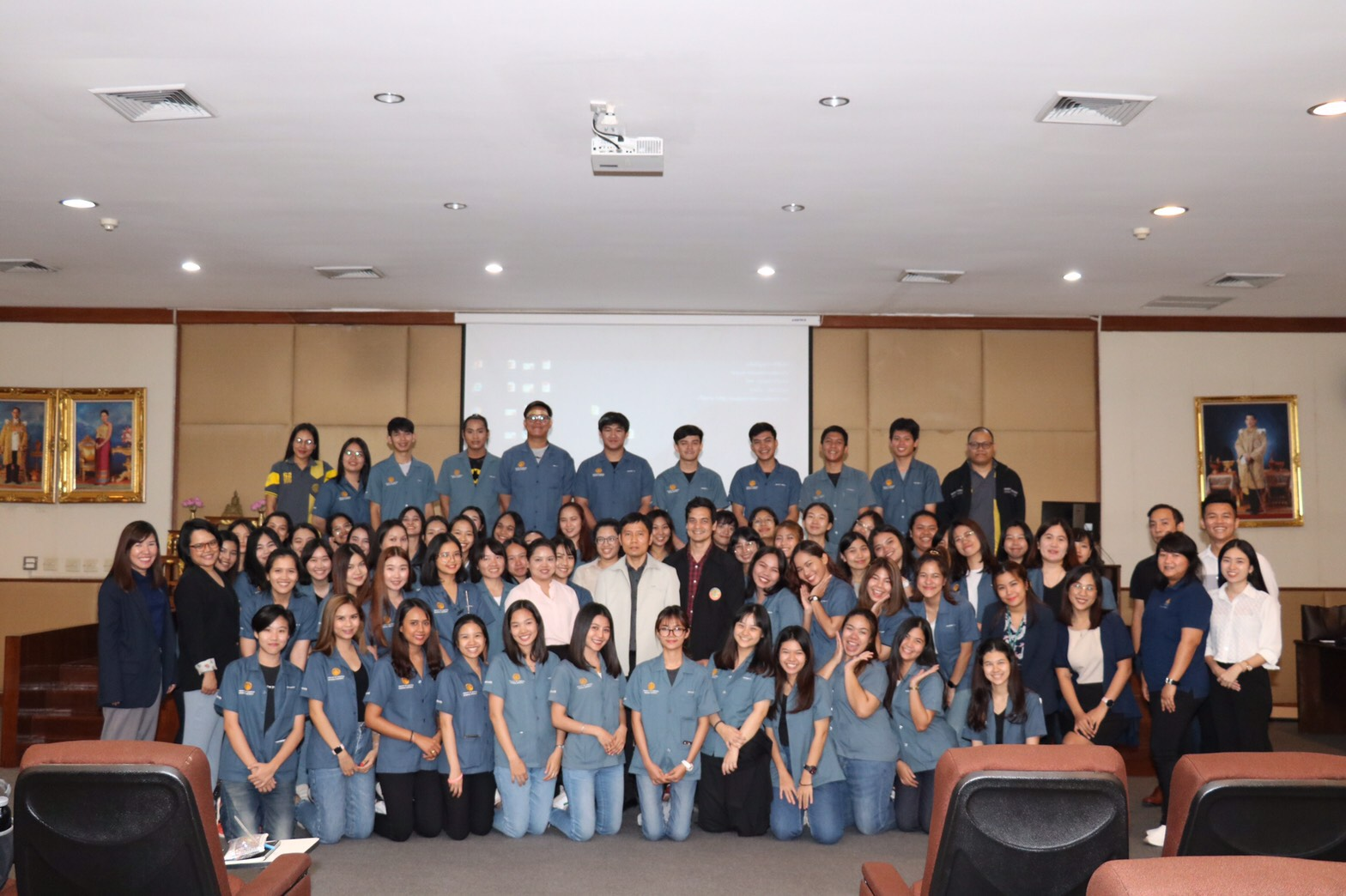 ศึกษาดูงาน บริษัท นามยง เทอร์มินอล จำกัด และสำนักงานศุลกากร ท่าอากาศยานสุวรรณภูมิ