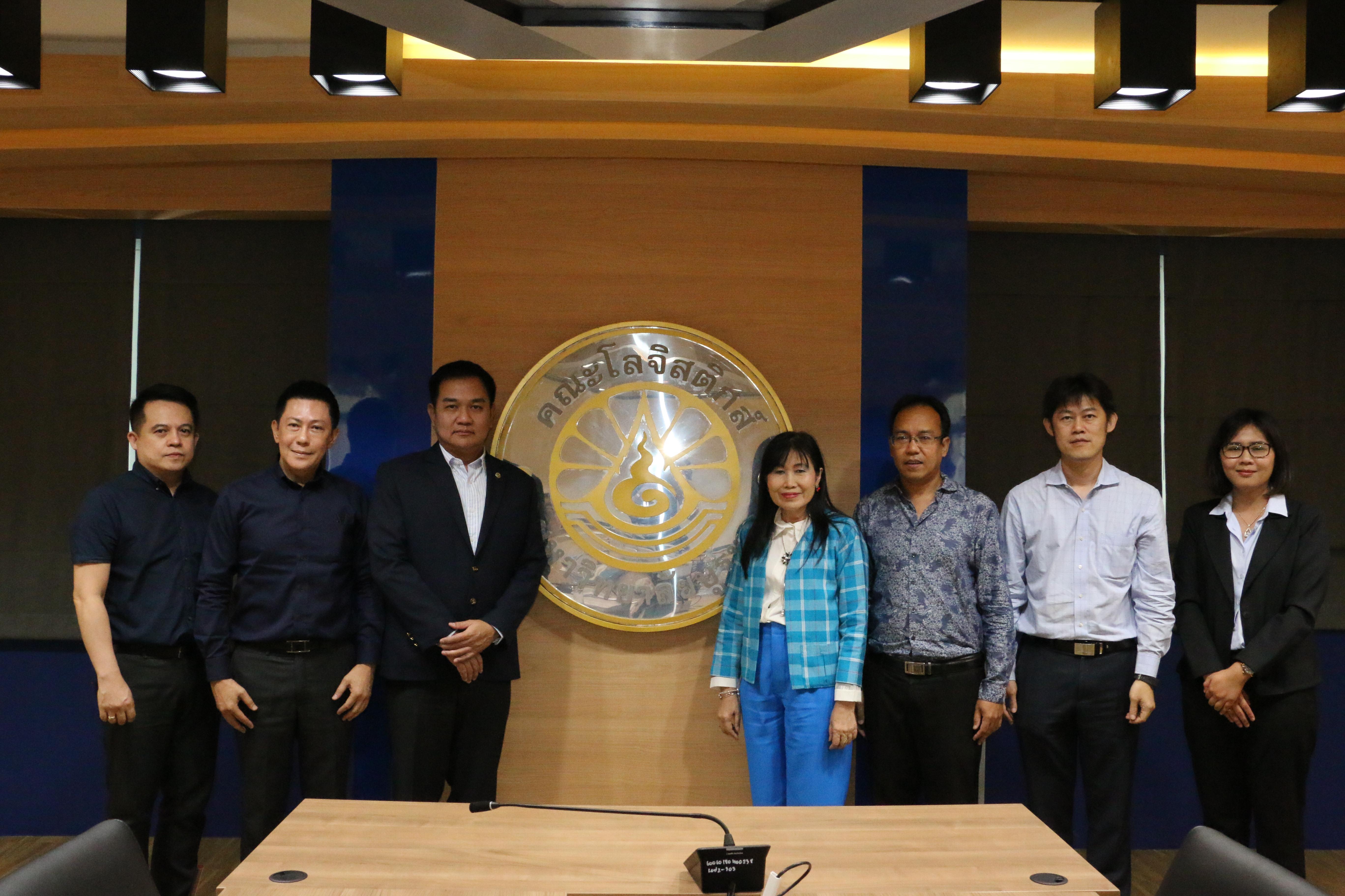 ร่วมพูดคุยจัดทำร่างหลักสูตรธุรกิจสายการบิน กับ Thai Flight Training Company Limited