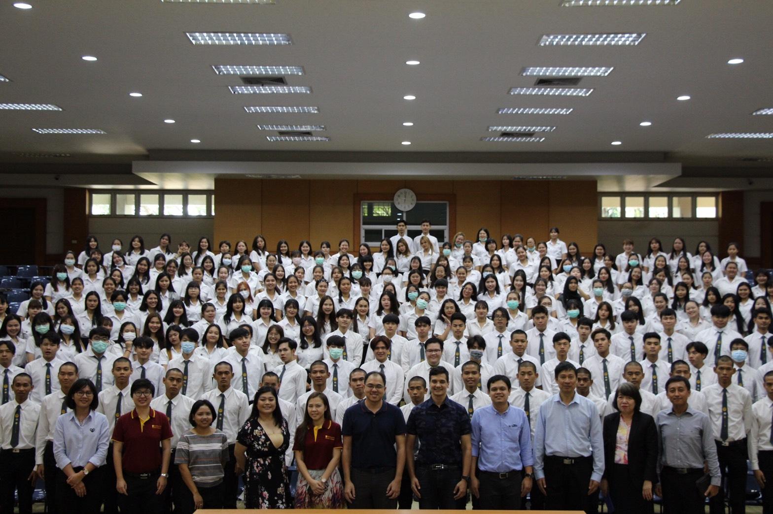 โครงการมอบติ้งคณะโลจิสติกส์ ประจำปีการศึกษา 2562